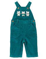 Детский вельветовый комбинезон для мальчика. 12-18 месяцев