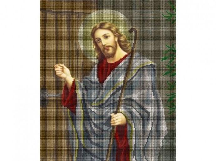 """Схема для вышивки """"Иисус"""