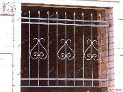 Кованные оконные и дверные решетки (квадрат 10мм), Хмельницкий