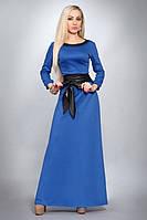 Красивое женское платье  из ткани французкий трикотаж