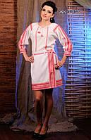 Жіночий костюм з яскравою вишивкою Модель:ЖК 3-138
