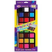 Краски акварель VGR W3324NB, 24 цвета