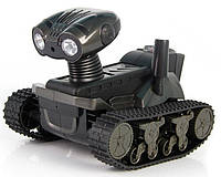 Танк-робот rovospy, игрушка со встроенной видеокамерой, микрофон, фото, ночная съемка, подсветка, ios/android