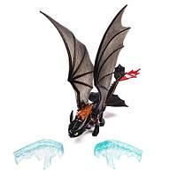 Игрушка дракон Беззубик (Ночная фурия), Ледяная атака