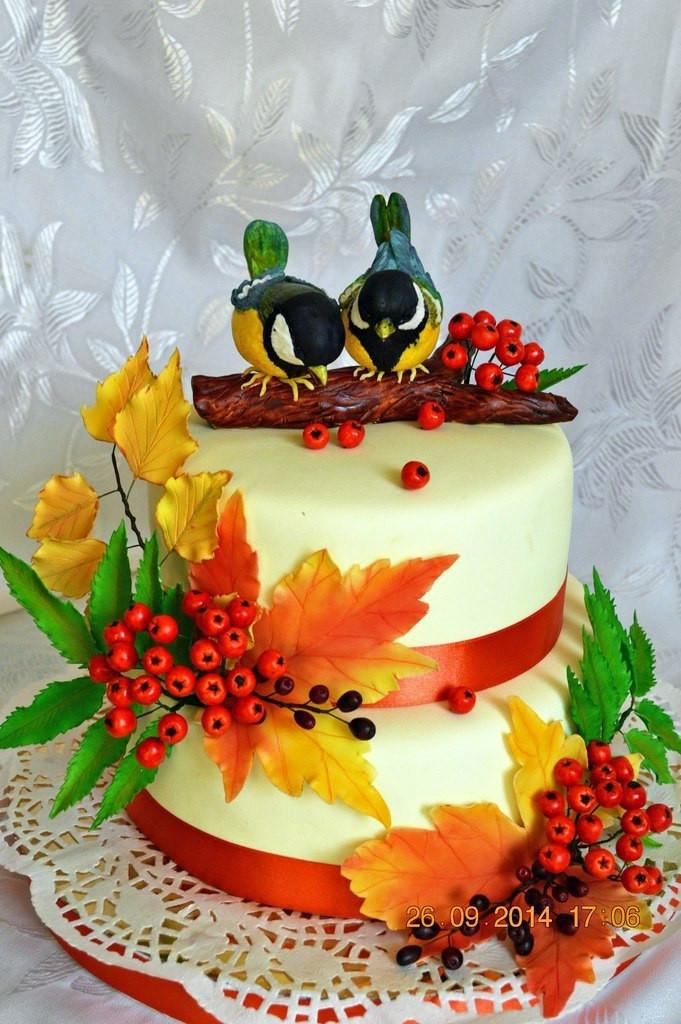Фото торты осень