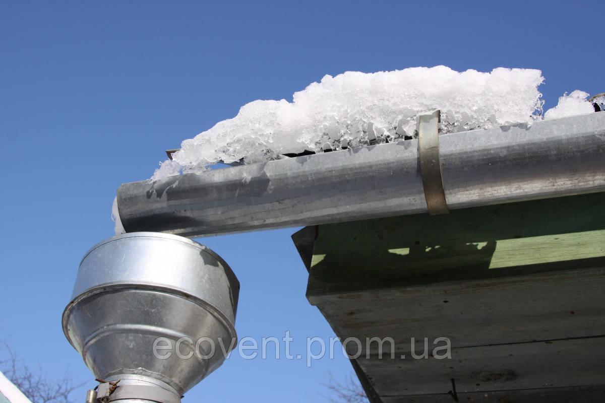 Отливы для крыши из канализационных труб своими руками