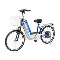 Компактный городской велосипед с электромотором Skybike Swift