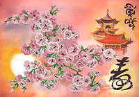 Схема для вышивки бисером Красота Востока РКП-249