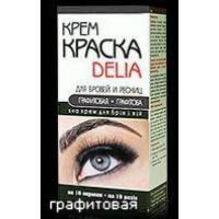 Краска для бровей ''Delia'' графит