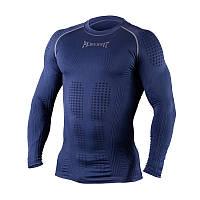 Компрессионная футболка с длинным рукавом Peresvit 3D Performance Rush Compression T-Shirt Navy размер L,XL