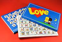 Шоколадный набор Love is большой , оригинальный подарок на День Влюбленных