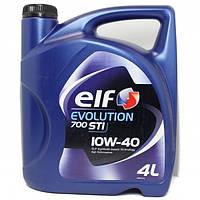 Масло ELF Evolution 700 STI (Competition STI) 10w40 4л*
