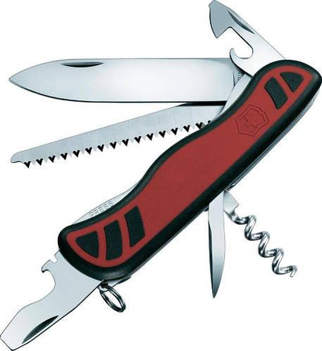 Складной швейцарский нож Victorinox Forester, 08361.C красный