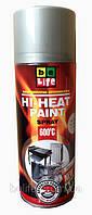 Аэрозольная жаростойкая эмаль Belife Hi-Heat Paint