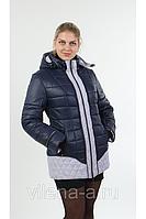 Куртка женская зимняя синяя-лед, размеры 50-58, Цвета разные