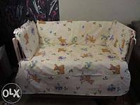Защита, мягкие бортики в детскую кроватку