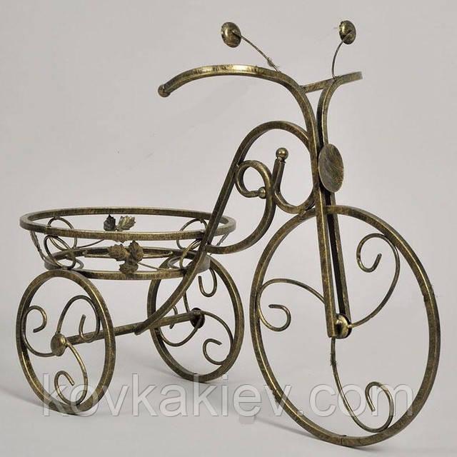 Цветочницу велосипед ковка для цвето