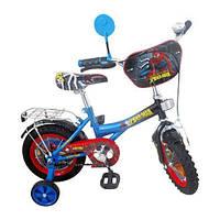 "Велосипед детский мульт 12"" P 1245S Спайдермен NEW"