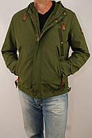 Куртка мужская Vivacana (весенняя, теплая, зеленая, синяя) Вивикана оптом и в розницу