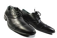 Черные мужские туфли классика