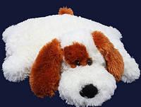 Мягкая игрушка - плюшевая подушка Собака 57см