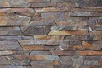 """Плитка из камня - Андезит серо-коричневый """"лапша"""""""