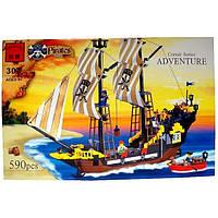 Конструктор Brick Пиратский корабль 307
