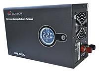 ИБП Luxeon UPS-500L (300Вт), для котла, чистая синусоида, внешняя АКБ