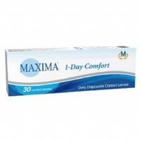 Однодневные контактные линзы Maxima 1 day comfort 30шт в уп