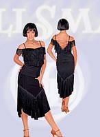 Юбка для Латины ЮЛ-314(р.46), блуза №340