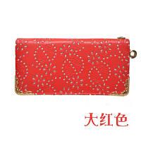 Женский кошелек с цветочным принтом из кожи PU