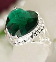 Кольцо хит необычной формы любимец женщин из стерлингового серебра 925 пробы