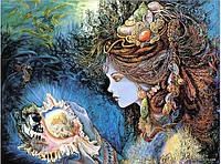 """Набор алмазной вышивки (мозаики) """"Волшебная ракушка"""". Художник Жозефина Уолл"""