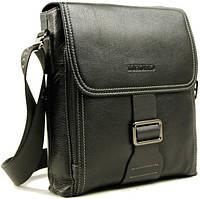 Оригинальная, молодежная сумка на плечо Тоfionno 07842-6 черная