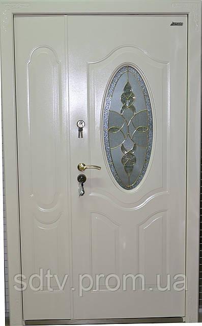 входные двери металлические бронированные со стеклом