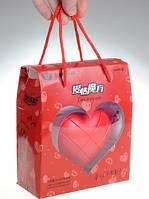 Сердце Кубика Рубика Головоломка Heart Love Cube в Подарочной упаковке