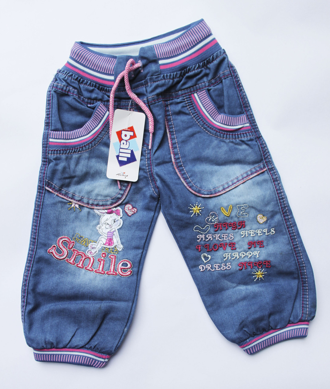 Купить джинсы для девочки