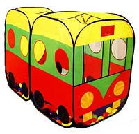 Палатка детская 8027 Автобус
