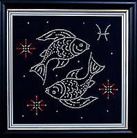 """Набор для вышивания бисером """"Рыбы"""""""