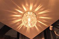 Feron JD95 встраиваемый декоративный светильник с кристаллом K9