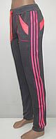 Женские спортивные брюки Стрелки (серый)