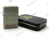 Зажигалка бензиновая «Bruce Lee» (Бронза)