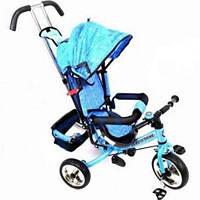 Велосипед детский, 3-х колёсный, голубой