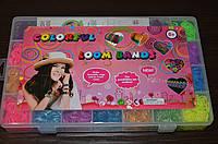 Набор Loom Bands 7000 разноцветных резинок для плетения браслетов сувениров. для детей и родителей!