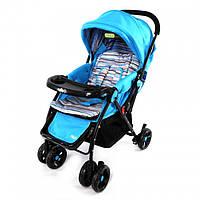 Коляска прогулочная Baby TILLY BT-WS-0004 BLUE с перекидной ручкой