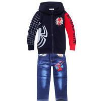 Костюм на мальчика джинсы и кофта с длинным рукавом