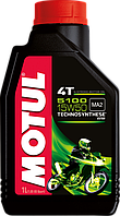 Motul 5100 4T 15W50 (1л) Полусинтетика масло для 4-х тактных двигателей мотоцикла
