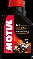 Motul 7100 4T 10W60 (1л) Синтетика масло для 4-х тактных двигателей мотоцикла
