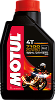 Motul 7100 4T 20W50 (1л) Синтетика масло для 4-х тактных двигателей мотоцикла