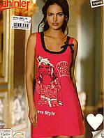 Ночная сорочка (рубашка), домашнее платье Sahinler B491